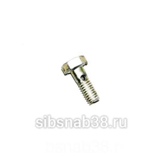 Болт-штуцер трубки смазки ТНВД YC6108G (YC6B1..