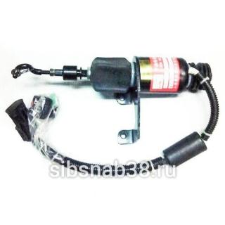 Электромагнит остановки двигателя LW500F (WD615)