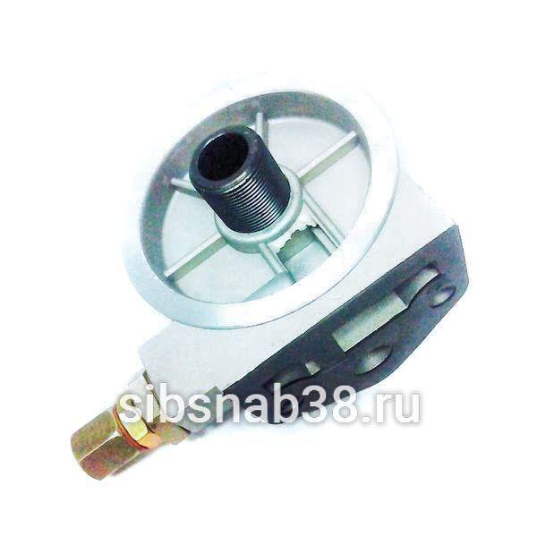 Корпус масляного фильтра на двигатель YC6108G, YC6B125