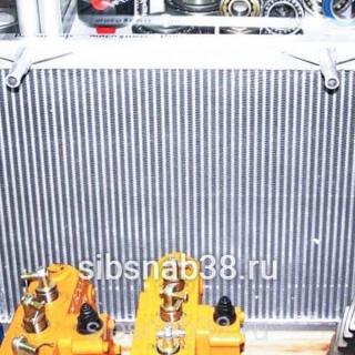 Радиатор масляный КПП LW300F (алюминиевый)