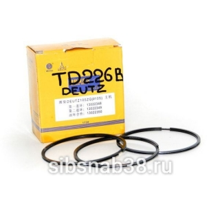 Поршневые кольца TD226-B (WP6G125E22)..