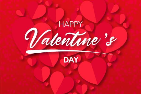 Картинка-поздравление с днем Святого Валентина